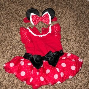 Minnie Mouse dress & headband